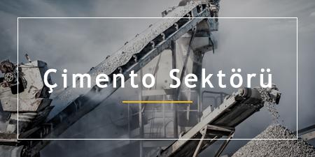 çimento sektörü, çimento sektörü döküm imalatı, çimento sektörü çelik üretimi, çimento sektörü ürünleri